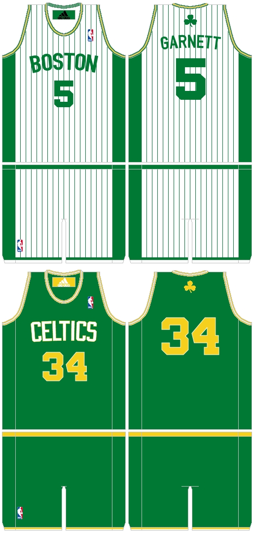 Uniform Tweaks Celtics Hawks And Bulls Basketball Reference Com Blog Blog Archive