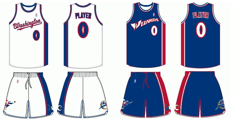 Uniform Tweaks  Washington Wizards » Basketball-Reference.com Blog ... 26d72de22