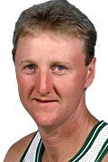 Photo of Larry Bird, 1986-87 -