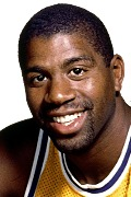 Photo of Magic Johnson, 1983-84 -